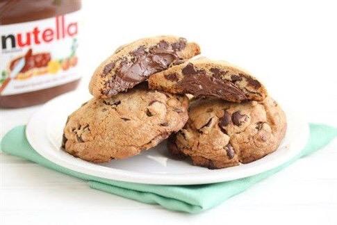 Ricetta Cookies Facile E Veloce.Ricetta Cookies Americani
