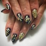 glass nail art
