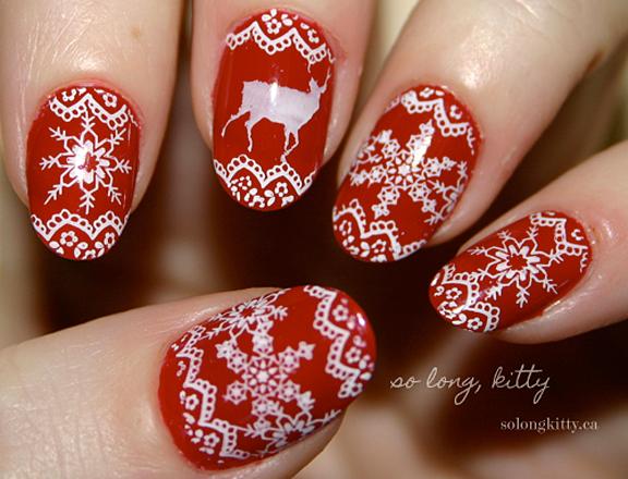 nail art natalizie2016