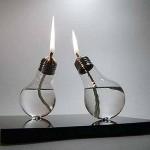 Candele da lampadine usate